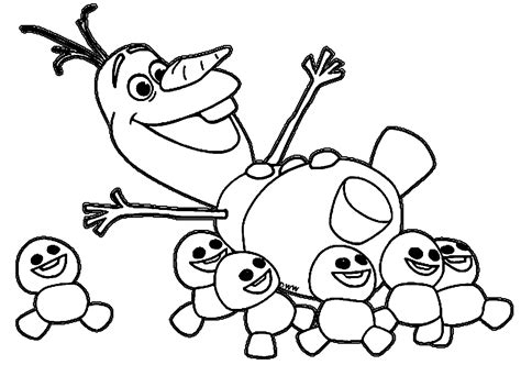 frozens olaf coloring pages best coloring pages for