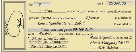 Como Llenar Una Letra De Cambio Ejemplos De Como Llenar Una Letra | como se llena una letra de cambio en colombia