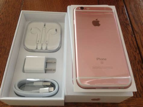 Iphone 6 S 16gb Rosegold new gold space gray iphone 6s 128gb factory unlocked