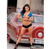 Zuleyka  Lowrider Girls Model Magazine