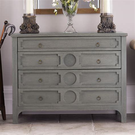 Grey Chest Of Drawers by Chest Of Drawers Oka