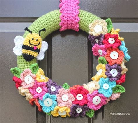 Tas Ransel Vans Of The Wall Yl crocheted wreath repeat crafter me bloglovin