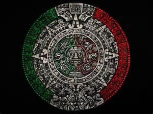 El Calendario Y Azteca Aztec Calendar Sculpture Sol Calendario Azteca Mexico