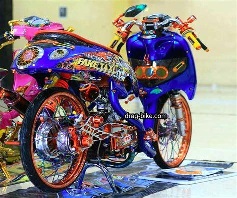 Modifikasi Motor Classic by 42 Foto Gambar Modifikasi Fino Thailook Style Simple