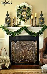 attractive fireplace decor with various simple mantel