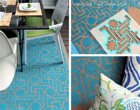 diy painted rug stencil 110 best images about painted rugs on decks on concrete patios decks and front porches