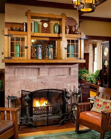 Arts And Crafts Fireplace Mantel by 17 Best Images About Arts Crafts Fireplaces On
