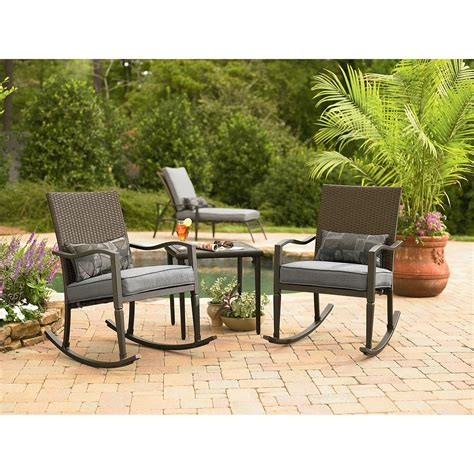 3 outdoor patio set garden oasis 2 10 901 tset 3 patio set