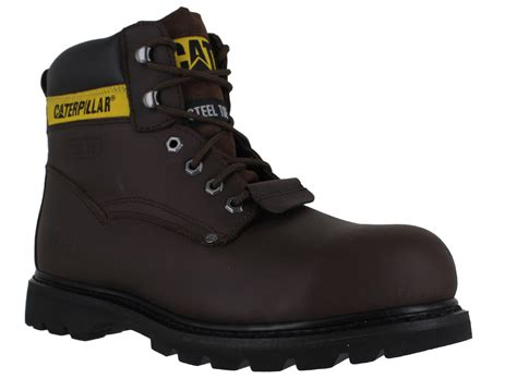 Sepatu Boots Caterpillar Frogskin Steel Toe 100 Boots Touring 1 mens caterpillar sheffield sb lace up work safety steel toe boots sizes 6 to 14 ebay