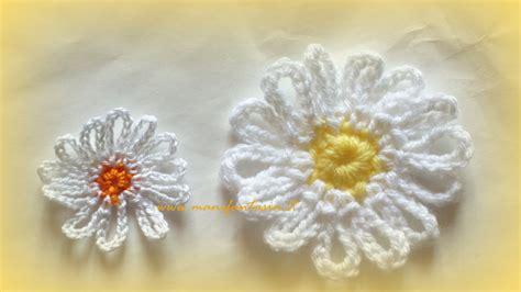 fiori all uncinetto facili fiori all uncinetto schemi facili fiori idea immagine