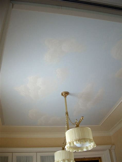 soffitto dipinto soffitto dipinto cielo ispirazione di design interni