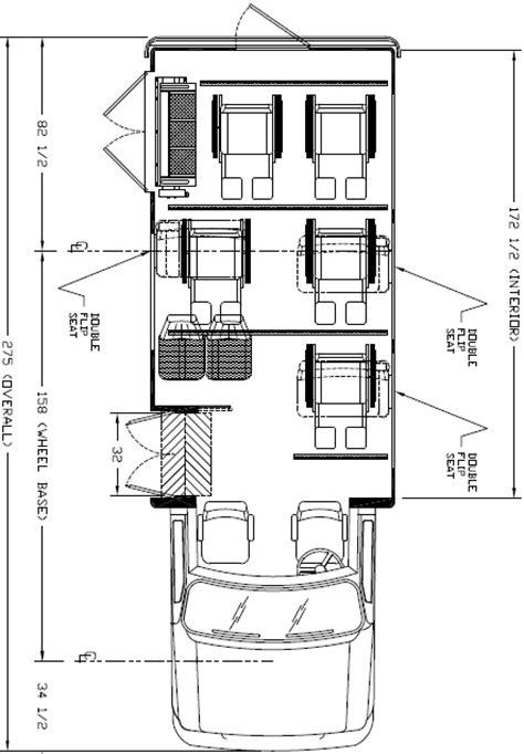 bus floor plans ameritrans 225 shuttle bus floorplans 5 wheelchair positions