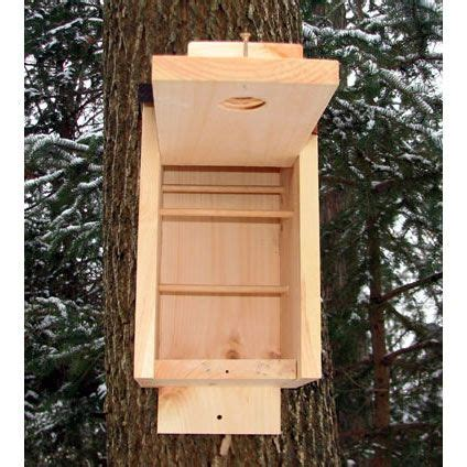 winter roost boxes give birds a warm place to take shelter