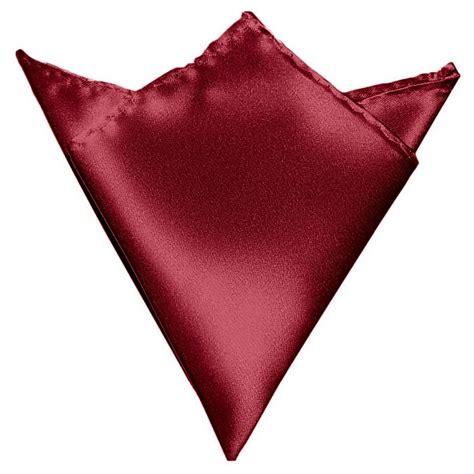 hanky colors gassani burgundy hanky pocket square handkerchief