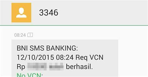 format sms banking bni 2015 syukriahsani trik kartu kredit virtual