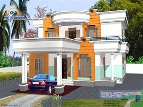 4 beautiful home elevation designs in 3d home appliance 2960 sq feet 4 bedroom villa design kerala home design