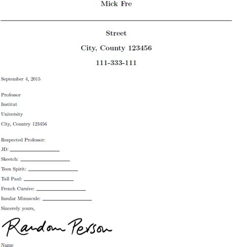 Resume Samples Easy by Templates Adjusting The Signature Between Quot Sincerely And