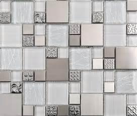 modern mosaic tile backsplash stainless steel mosaic tiles glass mosaic tile backsplash