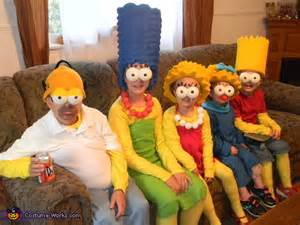 The simpsons family halloween costumes