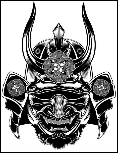 bushido tattoo designs black white drawings search sleeve