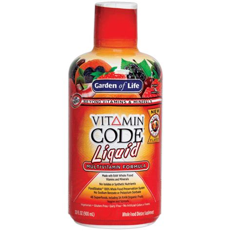 Garden Of Liquid Multivitamin Reviews Garden Of Vitamin Code Liquid Multivitamin Reviews
