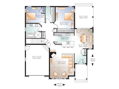 empty nester floor plans affordable house plans affordable empty nester home plan