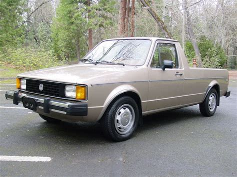 volkswagen rabbit truck 1981 volkswagen rabbit pickup diesel german cars for