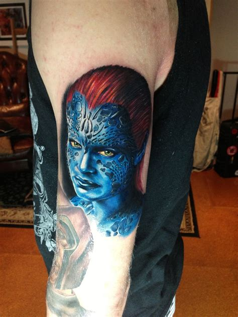 x tattoo mystique x by mick squires melbourne australia