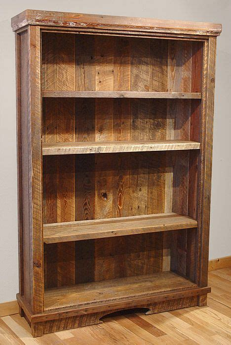 best 25 reclaimed wood bookcase ideas on