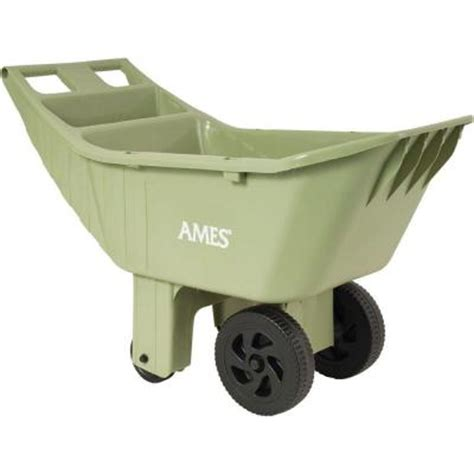 the homedepot ames 4 cu ft poly lawn cart 2463975 19 88