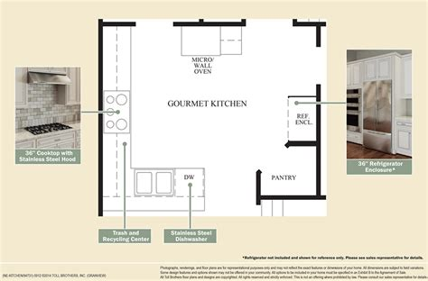design your own kitchen floor plan enclave at pleasantville the granview home design