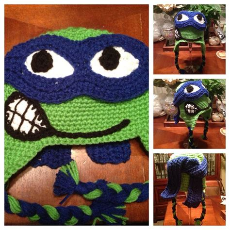pattern for ninja turtle hat 19 best images about crochet teen age ninja turtles on