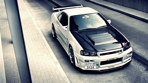nissan skyline r34 wallpaper nissan skyline gtr r wallpaper free desktop wallpapers