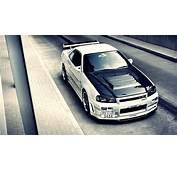Nissan Skyline R34 Wallpaper  WallpaperSafari