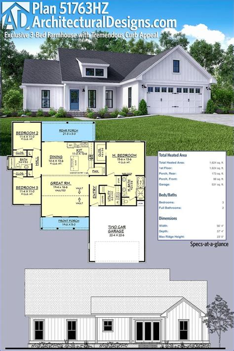 farm house designs and floor plans best 25 modern farmhouse plans ideas on pinterest