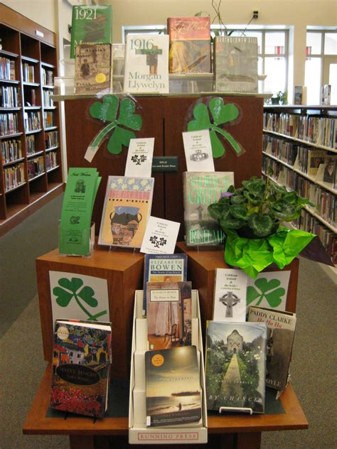 display books irish authors featured in our new book display
