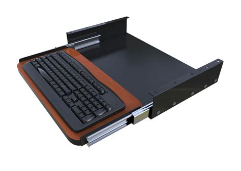under desk laptop tray under desk sliding keyboard tray afcindustries com