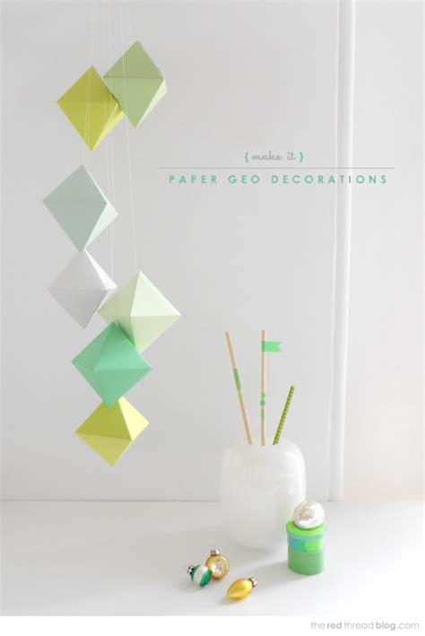 Printable Paper Decorations | 7 best images of printable ornaments to make printable