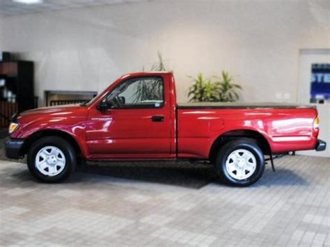 2002 toyota tacoma regular cab data, info and specs