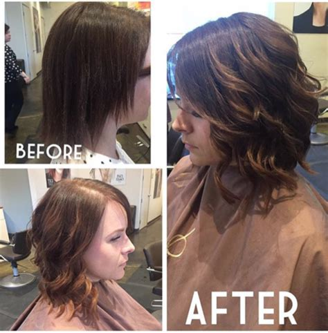 hair extensions for short hair. you can get long hair