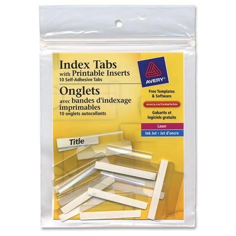 pendaflex template pendaflex printable tab inserts template images