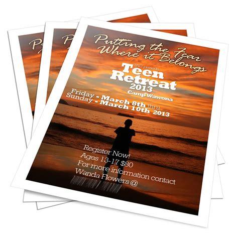 retreat flyer poster tajhmar thompson t3true