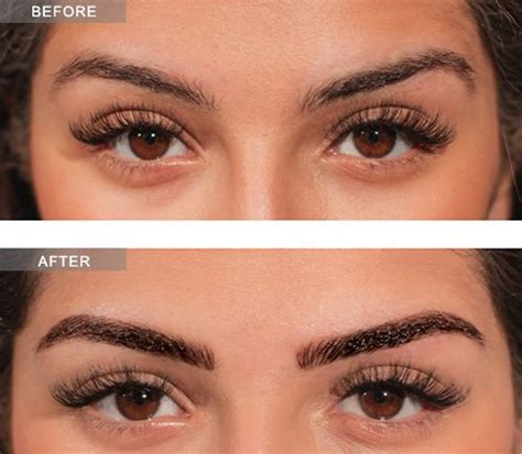 microblading eyebrows procedure aesthetic specialist