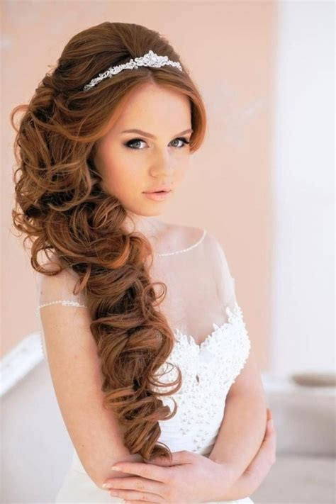 latest wedding hairstyles for bridals 2017 2017 classic curly wedding hairstyles 2017 get married