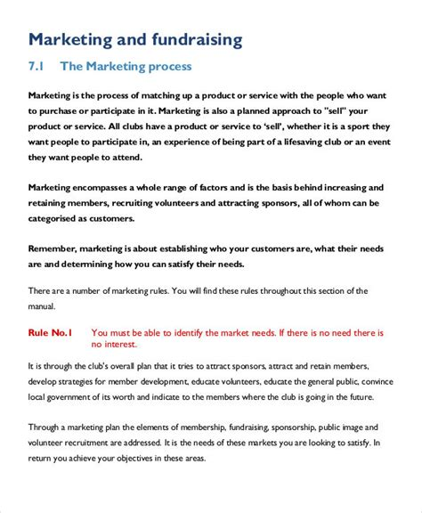 30 Marketing Plan Templates In Pdf Free Premium Templates Fundraising Marketing Plan Template