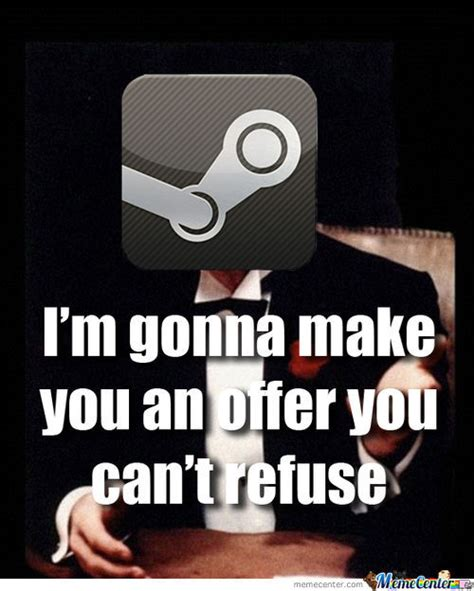 Meme Wallet - steam always gets to my wallet by recyclebin meme center