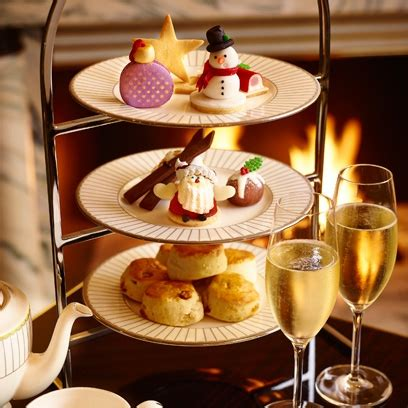 the best christmas afternoon teas in london christmas