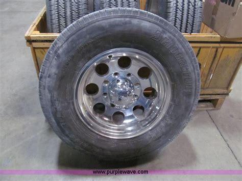 boat auction park city ks 4 bridgestone v steel rib 265 lt245 75r16 tires no