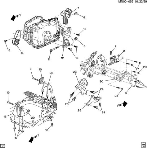 2003 chevy malibu transmission chevrolet malibu engine transmission mounting v6