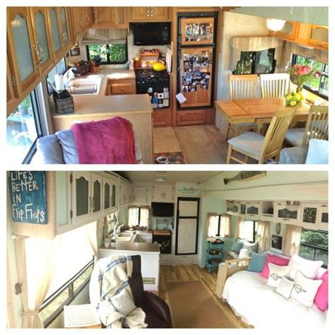 sweet 5th wheel remodel great ideas to try